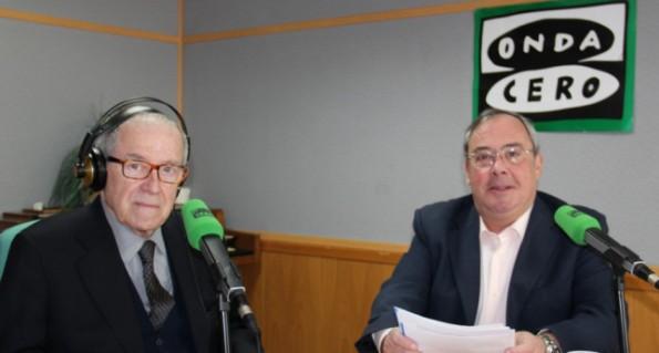Arsenio Corsellas y Fernando del Collado. (Fuente: Onda Cero).