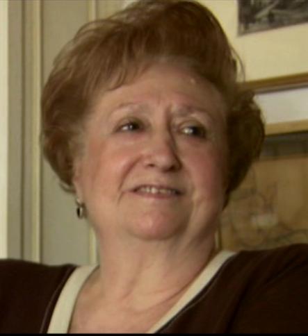 """María Romero. Fuente: documental """"Voces en Imágenes""""."""